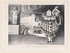 Honoré Daumier (French, Marseilles 1808–1879 Valmondois). Baissez le Rideau, La Farce est Jouée (Bring Down the Curtain; the Farce is Over), published in La Caricature no. 201, September 11, 1834. The Metropolitan Museum of Art, New York Gift of Louise Bechtel, 1958 (58.580.38)