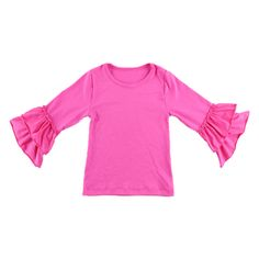 Majestic Magenta Long-Sleeved Tee, 66.7% discount @ PatPat Mom Baby Shopping App