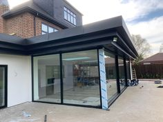 Flatlock zinc fascia and soffit I did in Loughton, Essex Garage Doors, Outdoor Decor, Room, Furniture, Projects, Home Decor, Bedroom, Log Projects, Blue Prints