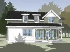 Plan 1.0 - Pearl Cottages - Traditionally-styled, green built, pre-fab rooms, guest suites and homesPearl Cottages