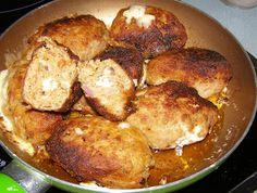 W Mojej Kuchni Lubię.. : kotlety mielone z szynki z serem lazur...