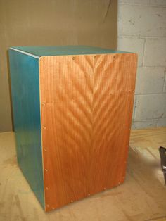 front-drum-small - How to Build a Cajon Drum