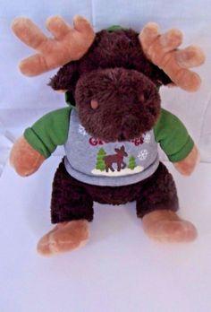 Dan Dee Collector's Choice 2012 Brown Season Greetings 15' Moose Stuff Animal   #DanDee #Christmas