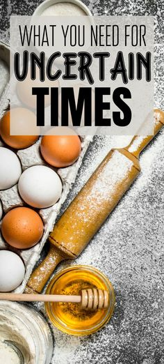 What - exactly - does one need to have on hand to survive a lengthy lockdown? Or when things get tough financially? Here's how to prepare your pantry for more cooking at home, and what other supplies you might need for a shift in our economy.
