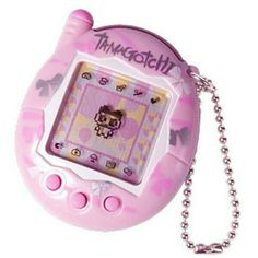 """Toys and their advertisements were a strong affecting media from the get-go of my childhood. Tamagotchis, a digital pet toy, were extremely popular through out the early years of elementary school. Though I didn't know it at the time, they were the first piece of technology I was """"addicted"""" to. These toys ultimately made me feel comfortable holding a piece of technology constantly (even as a child) and because of this led to my dependance of my cellphone."""
