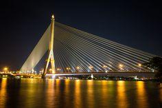 Rama 8 Bridge, BKK #Thailand #Photography