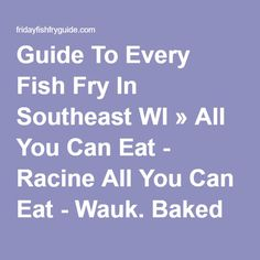 Cod fish fish fry and copper bar on pinterest for All you can eat fish fry milwaukee