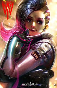 Sombra by Wizyakuza | Overwatch