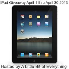 Ipad with Retina Display 64GB Giveaway (4/1-4/30)