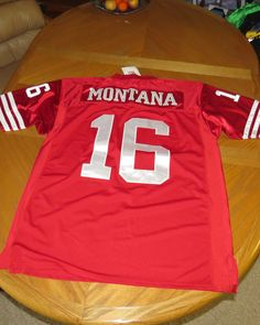 Joe Montana Throwback Jersey San Francisco  16 Nwt Xxl 54 Fullly Stitched  from  50.0 3be5405d1