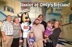 Dining at Goofy's Kitchen at the #Disneyland Hotel
