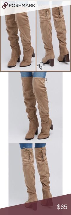 0959202be5b 21 Best over knee suede boots images in 2018 | Woman fashion, Tall ...