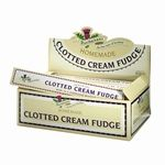 Buchanan`s Clotted Cream Fudge, Package (Pack of Dark Chocolate Almonds, Clotted Cream, British Sweets, Cream And Fudge, Homemade Fudge, 6 Pack, Decorative Boxes, Packing