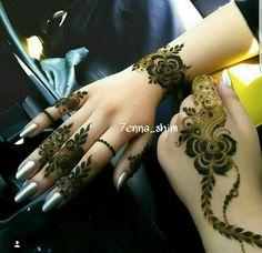 Simple cute mehndi designs for hands Mehndi Desing, Stylish Mehndi Designs, Henna Designs Easy, Beautiful Mehndi Design, Best Mehndi Designs, Arabic Mehndi Designs, Mehndi Designs For Hands, Henna Tattoo Designs, Heena Design