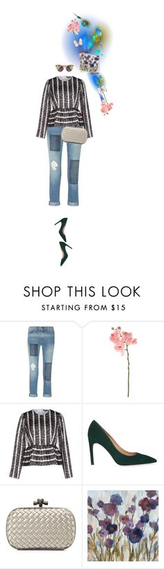 """""""Untitled #1291"""" by maja-z-94 ❤ liked on Polyvore featuring Current/Elliott, Sia, Raoul, Whistles, Bottega Veneta and Gentle Monster"""
