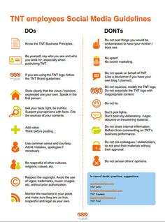 Beth Kanter blogged about how to use social media guidelines to empower employees and shares some clever visual ways to get the guidelines out.