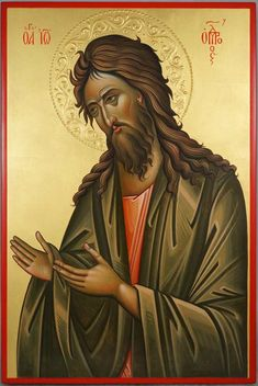 High quality hand-painted Orthodox icon of St John the Baptist (Deesis). BlessedMart offers Religious icons in old Byzantine Greek Russian and Catholic style. Byzantine Icons, Byzantine Art, Religious Icons, Religious Art, Archangel Raphael, Raphael Angel, Saint Jean Baptiste, Paint Icon, Spray Paint Art