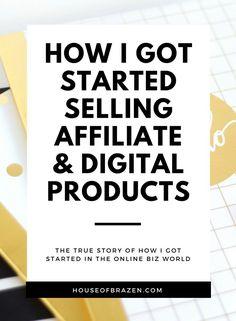Elise mcdowell house of brazen elisemcdowell on pinterest how i got started selling affiliate digital products online house of brazen malvernweather Images