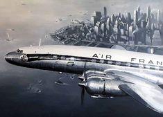 "Lockheed L-1049 ""Super Constellation"""