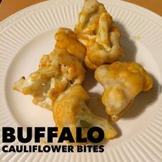 Fab Fit FunJen: Buffalo Cauliflower Bites