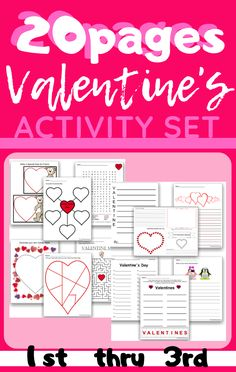 This a great activity set that will engage your students during the Valentine's Holiday! Includes Games, Crafts and More! Valentines Word Search, Valentine Words, Valentines Day Holiday, Small Paper Bags, Holiday Words, Happy Hearts Day, Student Drawing, Valentines Day Activities, Art Cards