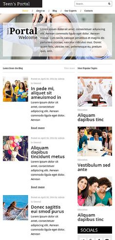 Most popular site teen web