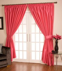 #Como #Ready #Made #Curtains #Hot #Pink