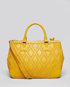 Tory Burch Tote - Robinson Patchwork Double Zip