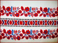 Mint országszerte általában, Szécsény környékén is a színes hímzést, a… Hungarian Embroidery, Folk Embroidery, Embroidery Stitches, Embroidery Patterns, Machine Embroidery, Stitch Patterns, Stoff Design, Couture Embroidery, Textiles