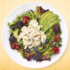 Crab & Avocado Salad with Berry Vinaigrette - Wegmans