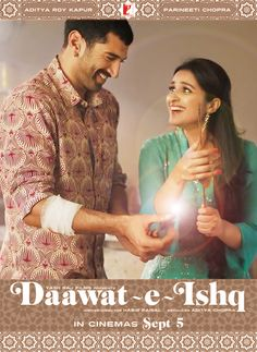 New poster from Daawat - E - Ishq Rebel Angel