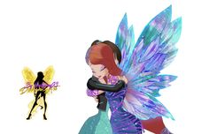 World of Winx Bloom Dreamix and Anabel - PNG by Gallifrey93.deviantart.com on @DeviantArt