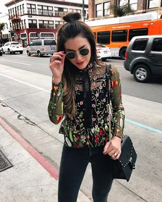 Merry Christmas Eve! I'm headed to family festivities wearing ASOS.com can't get enough floral embroidery this season! #asoshoLITdays #ad Clothing, Shoes & Jewelry - Women - leggings outfit for women - http://amzn.to/2kxu4S1