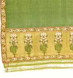 indian sari from the textile museum