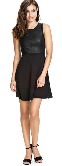 Little black skater dress Skater Dress, Model, Black, Dresses, Fashion, Vestidos, Moda, Black People