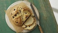Irish Soda Bread:  made it with raisins and anise seeds, sprinkled sugar on top before I slashed it