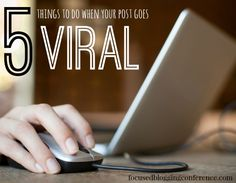 It's an amazing feeling to have a post go viral. But what should do you do when your posts DOES go viral?!