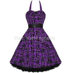Repinned from Ellen - purple and black dress - Google Search