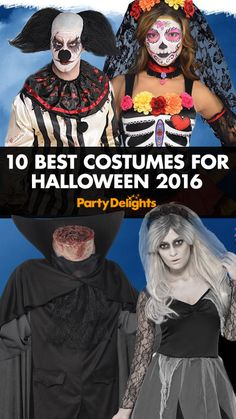 Halloween 2016 is creeping closer and it's time to start planning some spooktacular Halloween fancy dress! Read our round-up of this year's best Halloween costumes for inspiration, and pick up all the costumes featured at partydelights.co.uk.