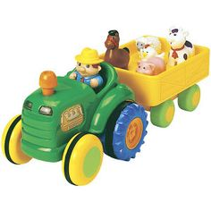 Funtime Tractor - Educational Toys, Specialty Toys and Games - Creative, Award Winning for Science, Math and More | Young Explorers