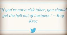 The truth hurts sometimes but at least it's the truth.  #successmindset #success #raykroc #risk #business #truth  #truth