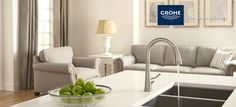 The Joliette™ Collection By Grohe at Ferguson Kitchen Appliances, Kitchen Faucets, Kitchens, Traditional Design, Perfect Place, Kitchen Remodel, Modern, Kitchen Ideas, Engineering