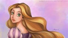 Rapunzel_Disney by megancpshin04 on deviantART