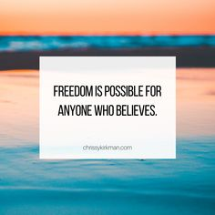 Freedom is possible for anyone who believes Savior, Jesus Christ, Christian Life Coaching, Gods Not Dead, My Lord, Freedom, Believe, Motivation, Liberty
