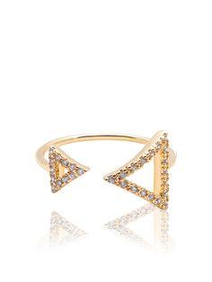 Nialaya Arrowhead Diamond Ring   Nialaya Jewelry
