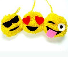 How to Make Emoji Pom Poms