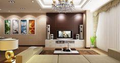 Tư vấn thiết kế nội thất | thi công trần vách thạch cao