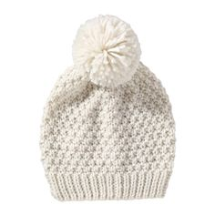 Pompom Hat - Joe Fresh - also like this one but the black cableknit one with pompom is my fave