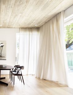PADDINGTON VILLA | alwill  #cutrains #diningroom #interiors #wood