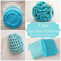 crocheted spa | the crochet space